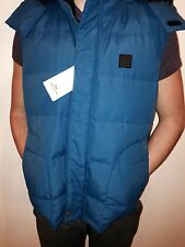 LACOSTE Men's Baffle Box Quilted Down Vest Winter Jacket Coat Hooded 2XL