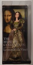 Barbie Pink Label MONA LISA Museum Collection Inspired By Leonardo Da Vinci -NIP