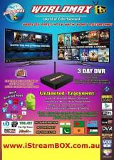 WorldMAX Turkish  IPTV Box 100+ Turk Channels,Shows NO SUBSCRIPTION,NO BUFFERING