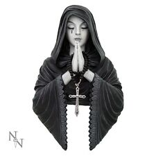 ANNE STOKES GOTHIC PRAYER WALL HANGING BRAND NEW NEMESIS RESIN FIGURINE BOXED