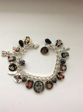 Elvis Presley the King Memorial new Photo charm bracelet. special memory gift
