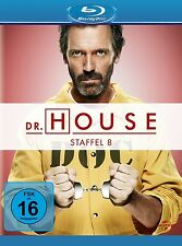 DR.HOUSE SEASON 8 Robert Sean Leonard, Omar Epps, Hugh Laurie 5 BLU-RAY NEU