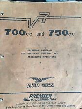 Moto Guzzi 700 and 750 Owners Manual