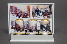 Christmas 1914 -Keep The Home Fires Burning BOXED Set of 3 Thimbles + Photo Card