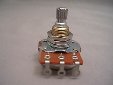 BOURNS A500K FULL SIZE POTENTIOMETER- KNURLED SPLIT SHAFT - FAST USA SHIPPING