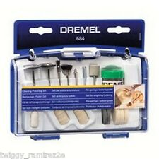 Dremel 684 set 20 accessori per lucidare nuovo compatibile con 4000 3000 etc