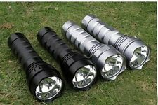 24W 2000Lumen HID Xenon 2200mAh Torch Flashlight Camping & Hiking Home maintain