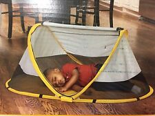 Kidco Peapod Infant Travel Bed, Sunshine