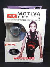 New MIO Motiva Petite Heart Rate Calorie Monitor Watch w/Extra Red/Black  Band