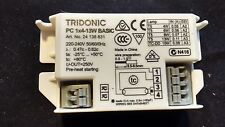 1 x PC NUOVO TRIDONIC 1 x 4w - 13w t5 DI BASE QUADRATA ILLUMINAZIONE ZAVORRA 240v UK Venditore