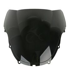 Black Double Bubble Windshield Windscreen For Honda CBR600 F4 1999-2000 USA Ship