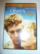 Oliver's Story DVD 70s romance drama movie Love Story sequel Erich Segal RARE!