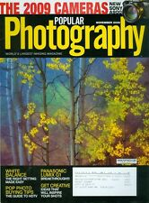 2008 Popular Photography Magazine: 2009 Cameras/White Balance/Panasonic Lumix G1