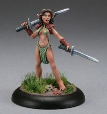 Anjanis Elf Druid Reaper Miniatures Dark Heaven Legends Elves Ranger Melee Sword