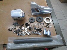 New Misc Parts Lot #2 Exhaust Bolts Heat Shield Side Cover Balancers Springs Etc