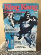 1976 Mego - King Kong Against The World Toy Playset 100% complete RARE WOW
