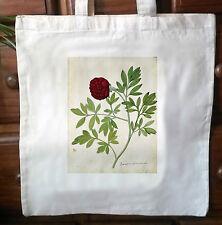 Victorian Repro cotton Shopping shoulder tote Shopper bags Botanical Print No.2