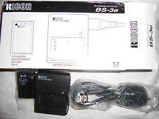 Ricoh cargador bj-2 set bs-3e aufladeset para Caplio r1 rz1 batería db-43 baterías