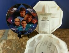 """Star Trek: 30 Years Ltd Edition Hamilton Collection Plate """"Starfleet Doctors"""""""