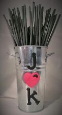 Wedding Sparklers Display Holder, Customized for Bride/Groom.