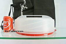 Limited edition Tupperware expandable Cake Taker store pie (1) XL large serving