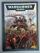 Warhammer 40K Codex - Tiránidos 5ª - Libro de Ejercito Español B885