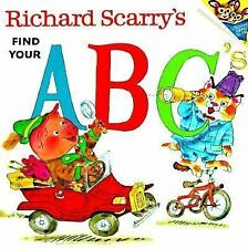 Richard Scarry's Find Your ABC'S (Pictureback(R)), Richard Scarry, Good Book