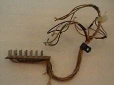 BALLY WIZARD PINBALL MACHINE PLAYFIELD FLAG FLIP UNIT AS-2807-2 WIRE HARNESS!