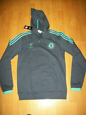 BNWT Chelsea Champions League shirt (HOODIE), small, adidas, with UK FREEPOST!