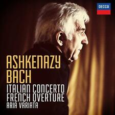Ashkenazy, Vladimir-CONCERTO ITALIANO & ouverture francese (OVP)