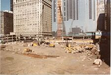 5G463 RP 1981 LASALLE STREET TRAIN STATION DEMOLISHED CHICAGO IL