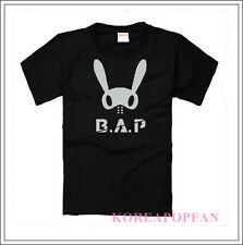 B.A.P BAP Best Absolute Perfect baby KPOP BLACK T-SHIRT TEE FREE SHIPPING NEW