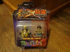 2012 DIAMOND SELECT MINIMATES-STREET FIGHTER x TEKKEN--RUFUS vs JULIA FIGURES