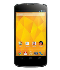 LG NEXUS 4 BLACK 16GB Refurbished With Dent & Scratch+3 Month Seller Warranty