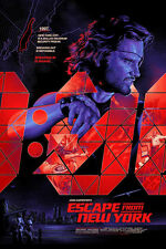 Escape From New York Regular Alt Movie Poster Mondo Artist Martin Ansin No. /375