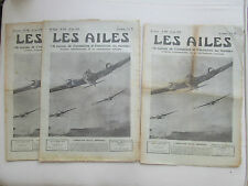 AILES 1939 938 AMIOT 370 EMPIRE AIR DAY SKUA CAUDRON C-860 WRIGHT CHASSE MIGNET