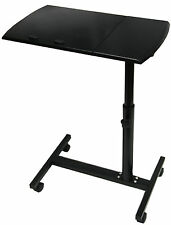 LAPTOP COMPUTER FOLDING TABLE DESK STAND BED STUDY ADJUSTABLE TRAY