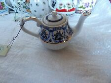 PRETTY PORCELAIN ART COLLECTOR TEAPOT SPECIAL EDITION NUMBER 40