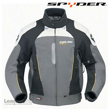 Can-Am Spyder Motorcycle NewMens Caliber Riding Jacket Grey Large, 4404460907