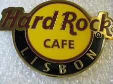 LISBON,Hard Rock Cafe,Round Logo Magnet (not opener)