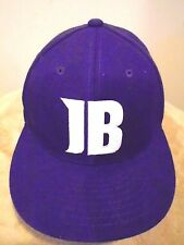 JUSTIN BIEBER FEVER Bright Purple BASEBALL HAT Fan Cap Concert Music Album COOL!