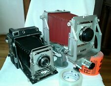 Vintage Graflex Speed Graphic & Graphic View Camera Kit with Accessories & Case