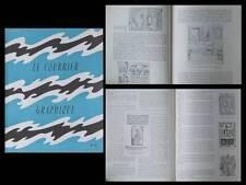 LE COURRIER GRAPHIQUE n°73 1954, ABRAM KROL, LEOPOLD SURVAGE, ARNOUILLET LYON