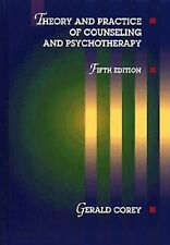 Theory and Practice of Counseling and Psychotherapy, Good Condition Book, Corey,