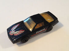 Matchbox 1982 Pontiac Firebird SE Black Diecast Model Car