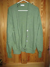 Barrie, made in Scotland. Pure new wool, green cardigan. size 10 - 12