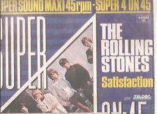 """ROLLING STONES """"Super 4 on 45"""" 12"""" Vinyl RARE"""