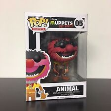 Funko POP The Muppets Most Wanted Animal VAULTED - Mint Box
