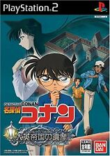Used PS2 Detective Conan: Legacy of the Great Empire   Japan Import