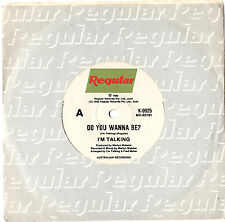 """I'M TALKING - DO YOU WANNA BE? - LIMITED EDITION 7"""" 45 VINYL RECORD 1986"""